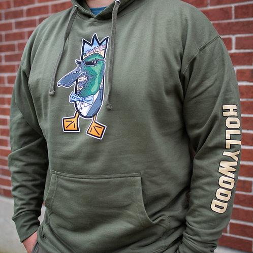 HOLLYWOOD hoodie, Army