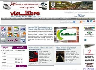 RAILBRASIL é destaque na mídia internacional e fecha importantes parcerias