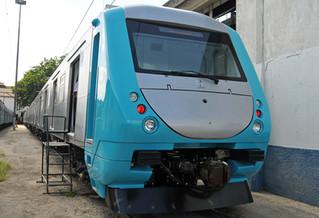Primeiro novo trem da SuperVia está em fase final de montagem em Deodoro