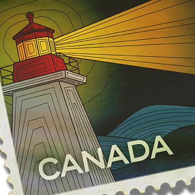 Stamp Illustrations & Animation
