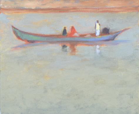 Figure in White