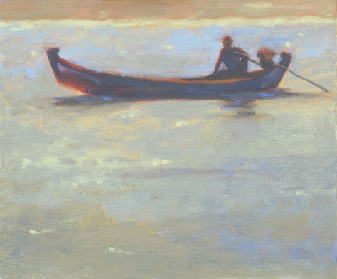 Boat against the Light