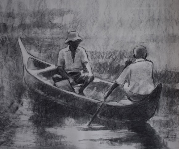 Two Men in a Boat