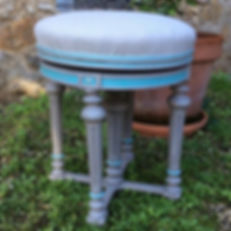 #anniesloanhome #chalkpaint #tabouret #c