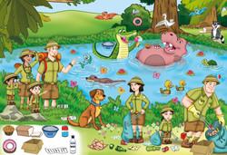 forest educational illustration