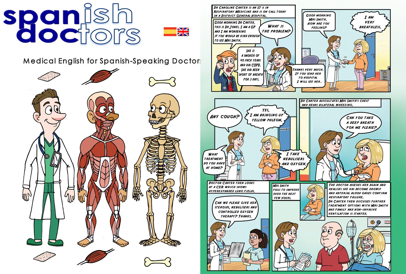 Spanish Doctor Comic
