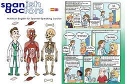 Spanish Doctor Comic