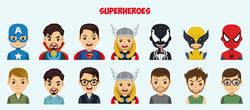 Telegram Superheroes Avatar