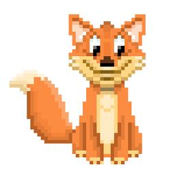 FOX pixel art
