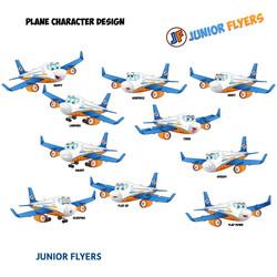 Plane Character Design