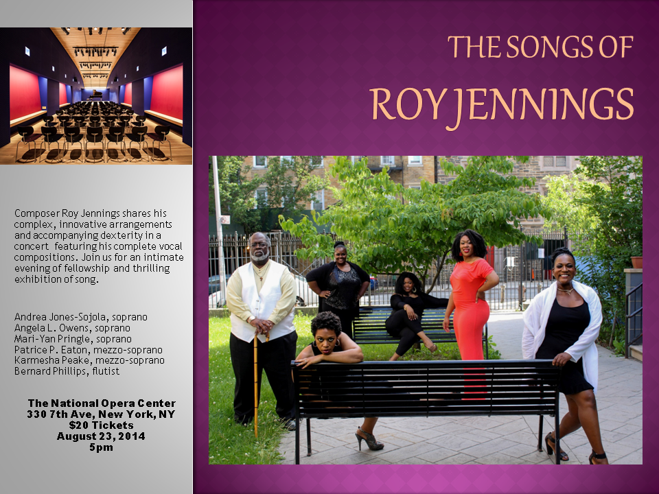 The Songs of Roy Jennings Invitation 2.p