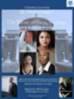 Columbia University Announcement 2019 Fi