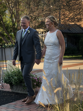 A beautiful wedding at the Birkby House in Leesburg, Virginia