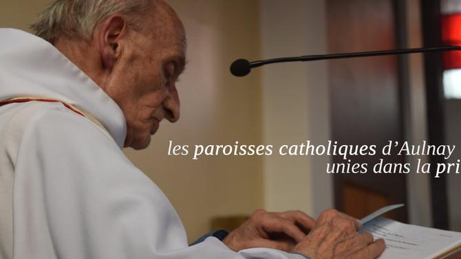 Hommages au Père Jacques Hamel