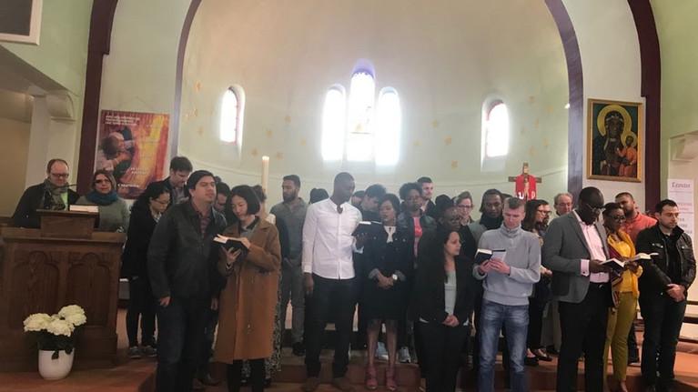Bénédiction des couples, 15 avril 2018 à Saint-Joseph