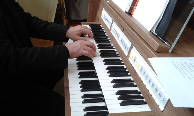 Bénédiction du nouvel orgue de Notre-Dame de la Compassion d'Aulnay : solennité de tous les sain