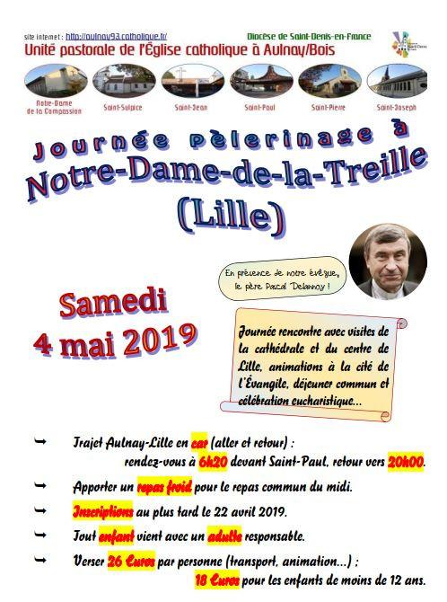 Pèlerinage à Lille 2019