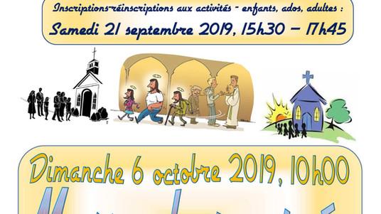 Rentrée Saint-Pierre 2019