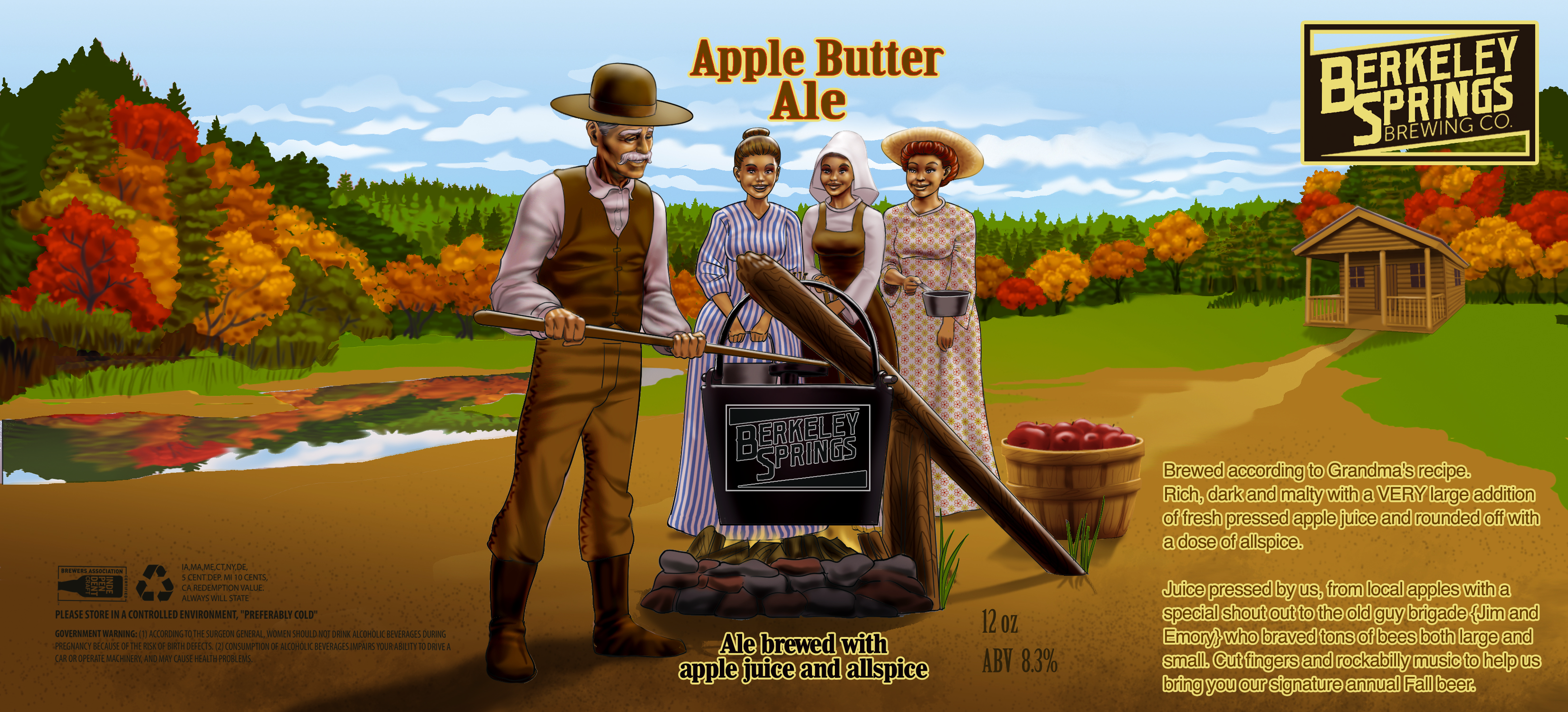 Apple Butter Ale