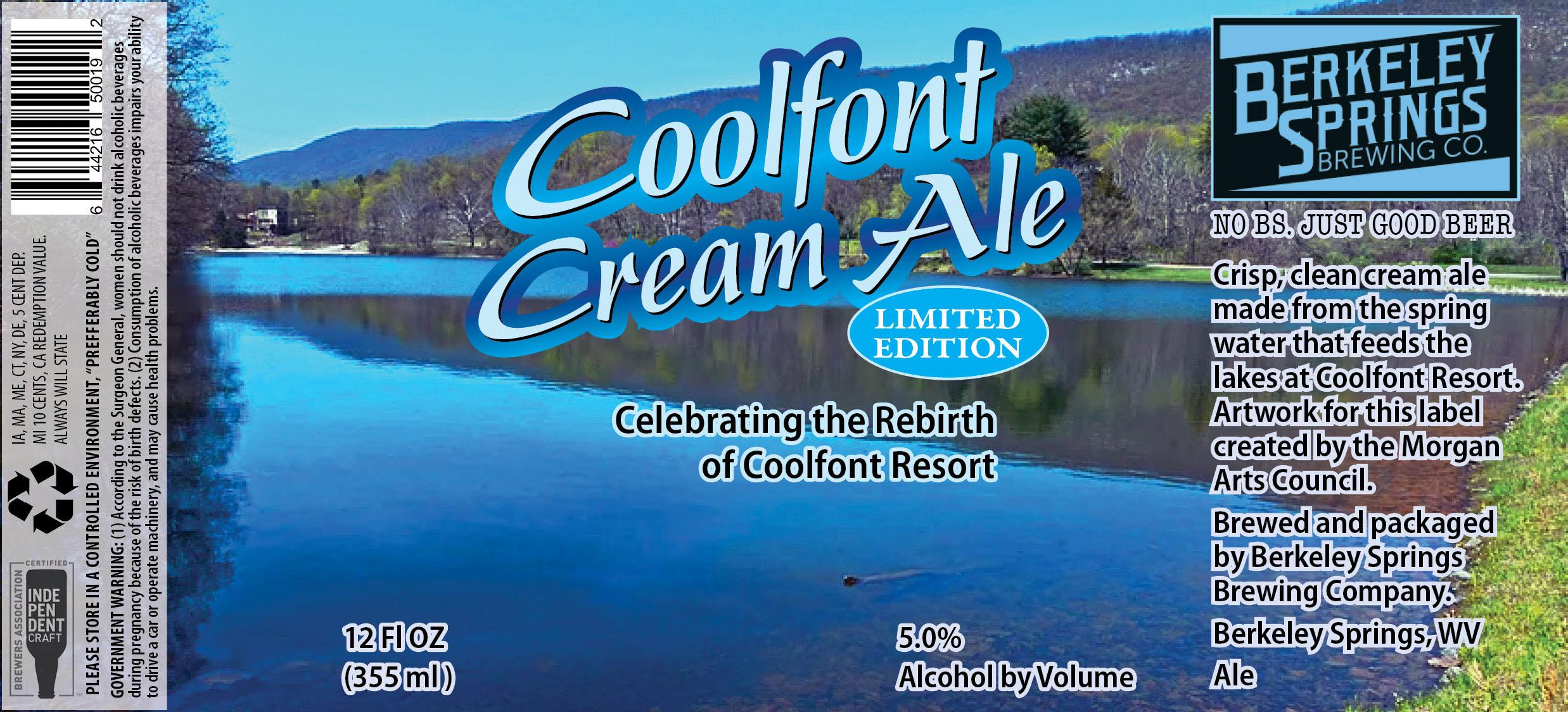 Coolfont Cream Ale Label (3)