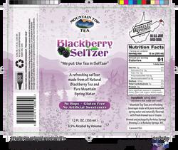 blackberry seltzer label