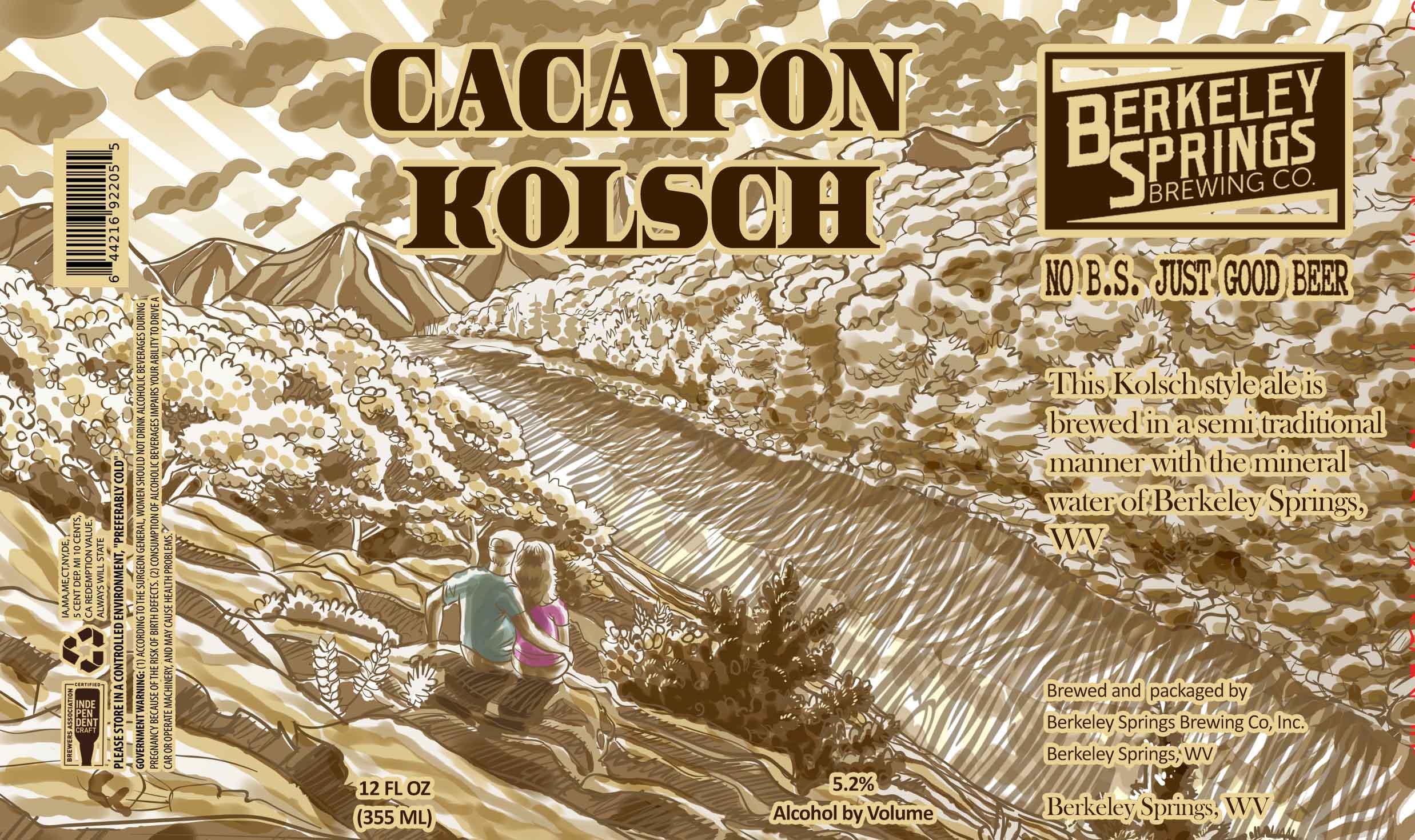 Cacapon Kolsch