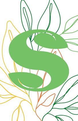 Logo Leaf Poster