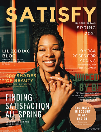 Satisfy by Sarahn Says SPR21