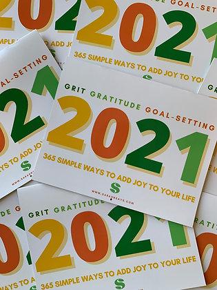 2021 Calendar: Grit, Gratitude & Goal-Setting