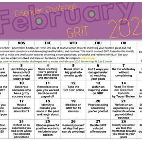 February 2020 Calendar Challenge