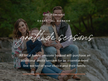 Gratitude Sessions; One for One