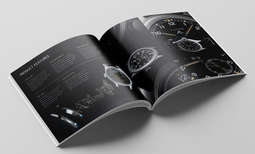 Timor Heritge Field Brochure features spread