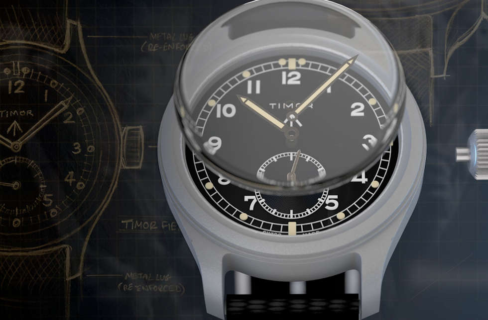Timor Watches - Rebirth of a legend