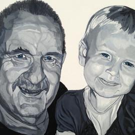 Morfar og barnebarn