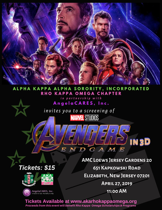 AVENGERS ENDGAME Screening -  April 27, 2019