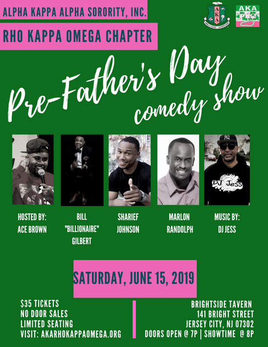 Pre-Father's Day Comedy Show - June 15