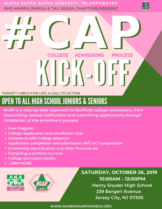 #CAP Kick-Off - October 26, 2019