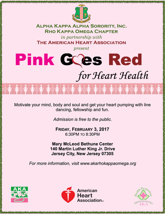 Pink Goes Red for Heart Health - February 3, 2017