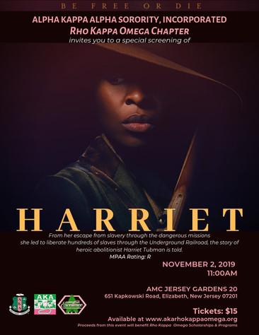 HARRIET Screening -  November 2, 2019