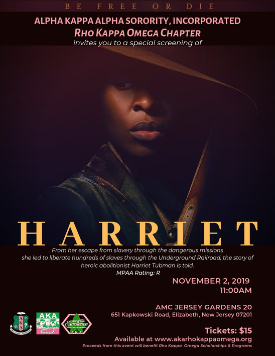 HARRIET Screening -  November 2, 2019