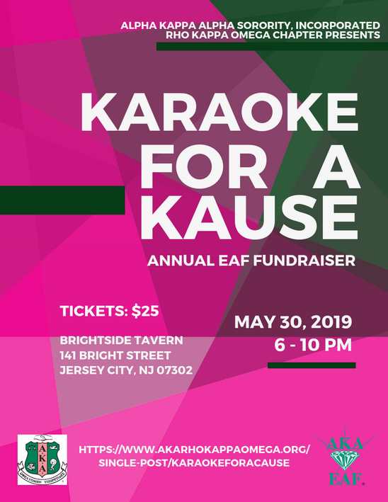 KARAOKE FOR A CAUSE - May 30, 2019