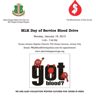 MLK Day Of Service Blood Drive