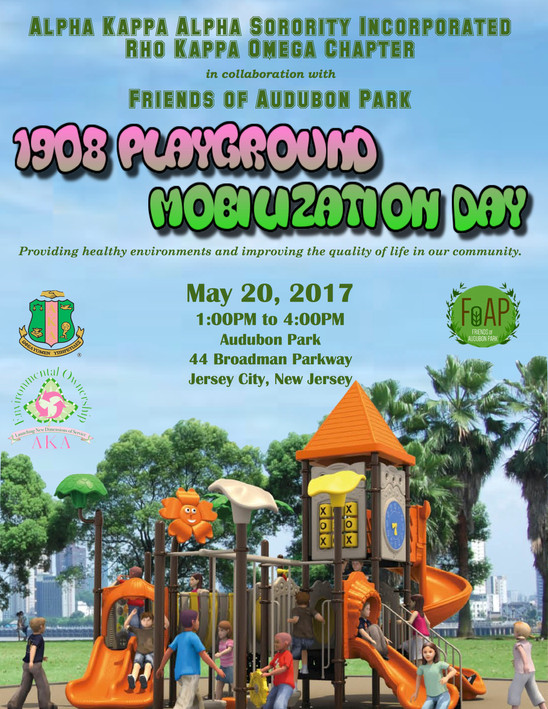 1908 Playground Mobilization Day - May 20, 2017