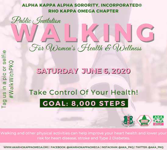 Walking with PKQ - June 6, 2020