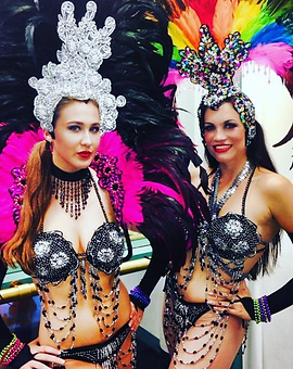 Entertainers for Hire Samba Dancer Dancing Carnival Brazilian Mardi Gras