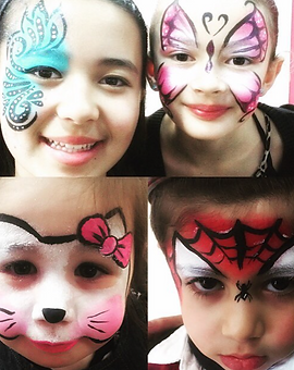 Entertainers for Hire Kids Face Paint Painting Painter Children Party