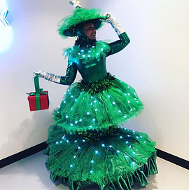 Entertainers for Hire Christmas Holiday Tree Performer