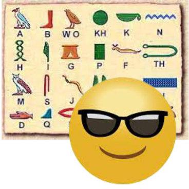 From Hieroglyphs to Emojis