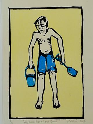 Boy with Bucket