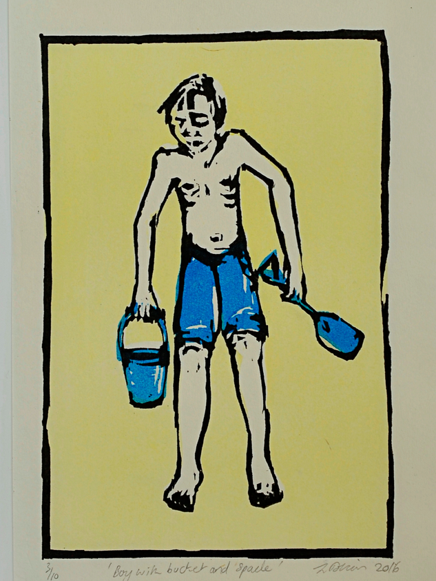 Boy with Bucket